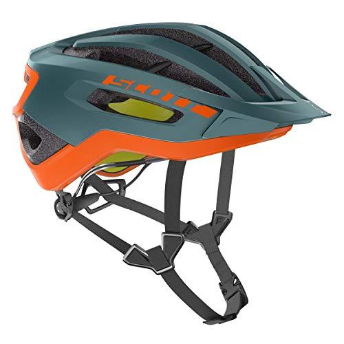 SCOTT Helm Fuga Plus Rev COB gr/Org M Unisex Erwachsene