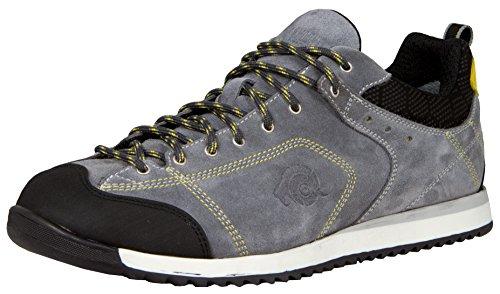 GUGGEN Mountain Herren Allround Sneaker Wanderschuhe Wanderhalbschuhe Trekkingschuhe wasserdicht Outdoor-Schuhe Walkingschuhe HPC54 Farbe Schwarz EU 45