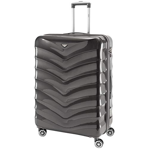 Flight Knight Lightweight 8 Wheel ABS/Polycarbonate Suitcases Carry On & Hold Luggage Options Approved for Over 100 Airlines Including easyJet, British Airways, RyanAir, KLM, Jet2, TUI & Many More!