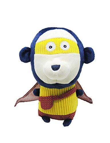 Les Deglingos Hundespielzeug The Super Zeroes Zonk Le singe