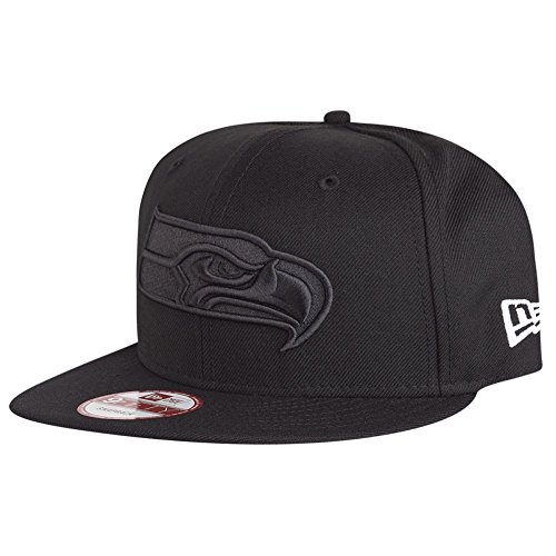 New Era 9Fifty Snapback Cap - BOB Seattle Seahawks Noir