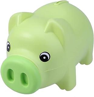 BESPORTBLE Piggy Bank Plastic Piggy Bank Cute Cion Bank Money Saving Bank Kids Money Banks ( Green )