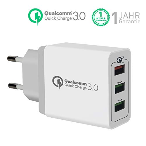 Quick Charge 3.0 Cargador USB Pared 30W