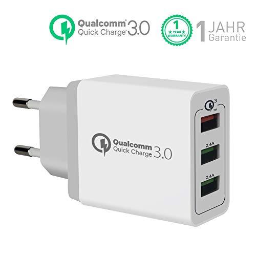 Quick Charge 3.0 Cargador USB de Pared con 30W Qualcomm QC 3.0 ...