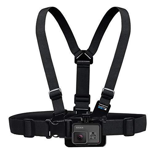 GoPro Jr. Chesty - Pack de Accesorios para cámaras Digitales GoPro Hero, Negro