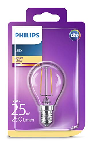Philips LED classic Lampe ersetzt 25 W, E14, warmweiß (2700K), 250 Lumen, Tropfen