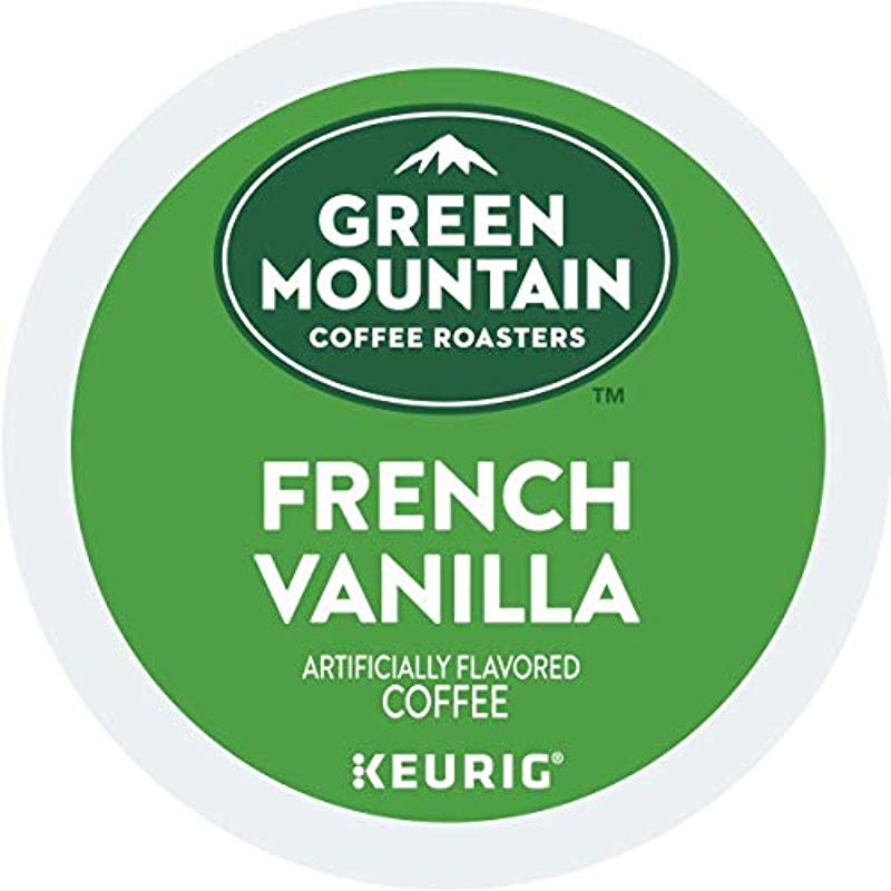 Green Mountain Coffee French Vanilla Single Serve Keurig K Cup Pods Light Roast Coffee 48 Count 2 Boxes Of 24 Pods