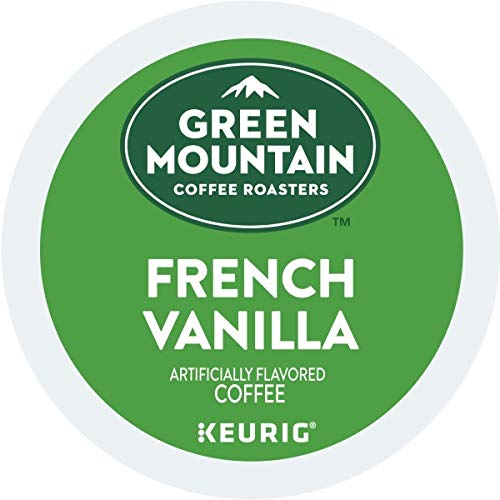 Green Mountain Coffee, French Vanilla, Single-Serve Keurig K-Cup Pods, Light Roast Coffee, 48 Count (2 Boxes of 24 Pods)