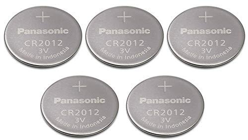 Panasonic CR2012 3 V al litio a bottone, 3 V Batteria 7PACK X 5 = 35