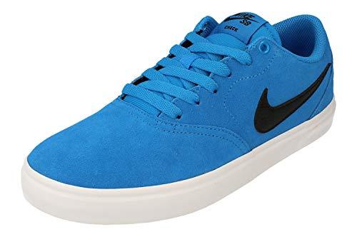 Nike SB Check Solar, Zapatillas de Deporte Unisex Adulto, Multicolor (Lt Photo Blue/Black/Lt Photo Blue/White 000), 47.5 EU