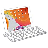Best iPad Keyboards - OMOTON Ultra-Slim Bluetooth Keyboard with Sliding Stand, Compatible Review