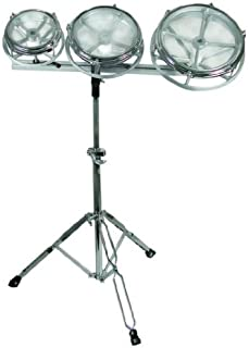 GP Percussion RT68 Tunable-Tom Drum Set with Folding Stand