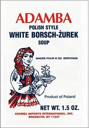 Adamba Polish Style White Borscht Zurek 1.5oz Discount Max 51% OFF is also underway Mix 3-Pa Soup Bag