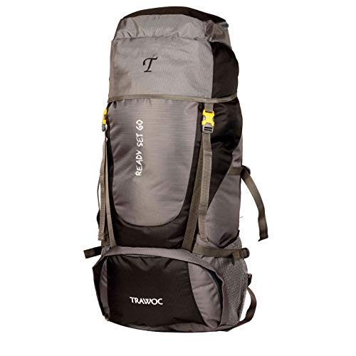 TRAWOC 55 LTR Backpack for Camping and Travel Hiking Trekking Bag