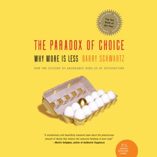 Couverture de The Paradox of Choice