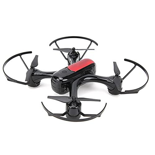 Drone Quadcopter sin Escobillas, 60-80m / 196.9-262.5ft Distancia de Control Remoto Modo sin Cabeza de una Tecla Vuelo RC Quadcopter con Hélices de Protección Total