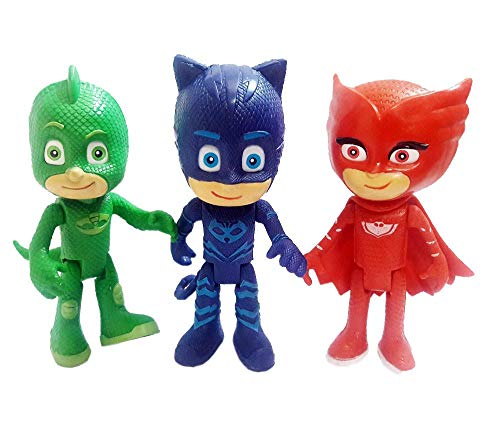 Boneco Pj Masks Heróis De Pijama Luz No Olho