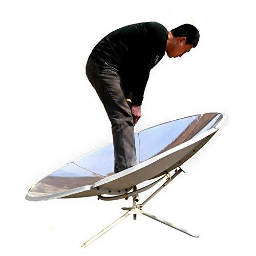 DIFU Premium 1.5m Diameter 1800W Portable Parabolic Solar Cooker Stove High Efficiency Sun Oven Camping Barbeque Outdoor USA Stock