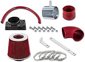 RL Concepts Red Short Ram Air Intake Kit + Filter 02-07 Mitsubishi Lancer 2.0L L4