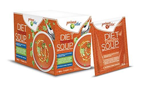 Primavita - Diät-Tomatensuppe Mahlzeitenersatz, 55g (10er-Packung)