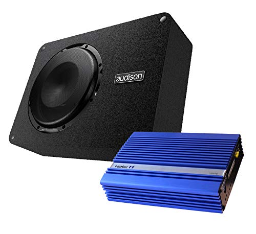 I-SOTEC Auto/KFZ Digital Plug & Play Upgrade Soundsystem (Subwoofer+Endstufe) kompatibel mit Porsche - Mediadox