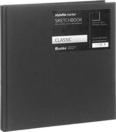 Stylefile Marker Classic Skizzenbuch 21x21cm quadratisch