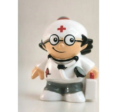 Mainzelmännchen Figur Det als Arzt