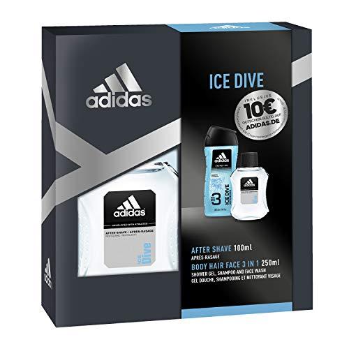 adidas Basic Line Ice Dive Eau de Toilette para hombre, 50 ml
