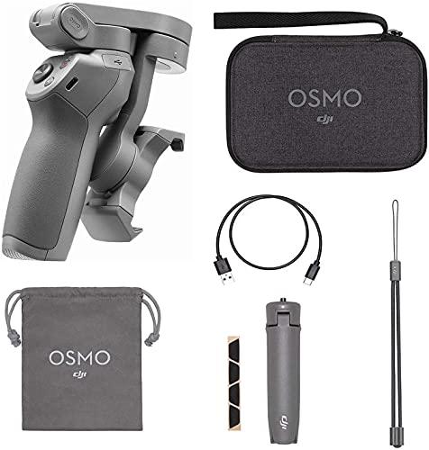 Official DJI OM 4 コンボ/Osmo Mobile 3 コンボ 追加のDJIスリングポーチとグリップ三脚ハンドヘルド3軸スマートフォンジンバルスタビライザーが含まれています Vlog YouTube Live Video for iPhone Android【日本語取説付属&一年間保証】 (OM3 Combo) [並行輸入品]