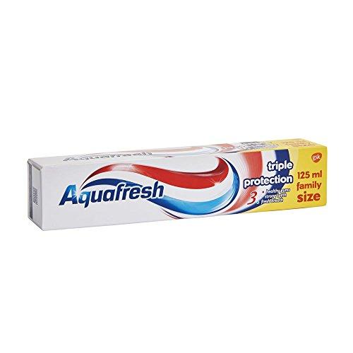 Aquafresh Triple Protection Fluorid Zahnpasta Family Größe 125 ml von GSK, AQ027071
