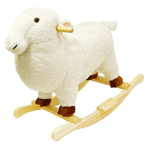 Lowest Prices! Lamb Plush Rocking Animal, Rocking Plush Animal