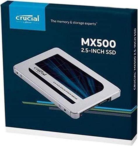 Crucial クルーシャル SSD 500GB MX500 SATA3 内蔵2.5インチ 7mm CT500MX500SSD1 7mmから9.5mmへの変換ス...