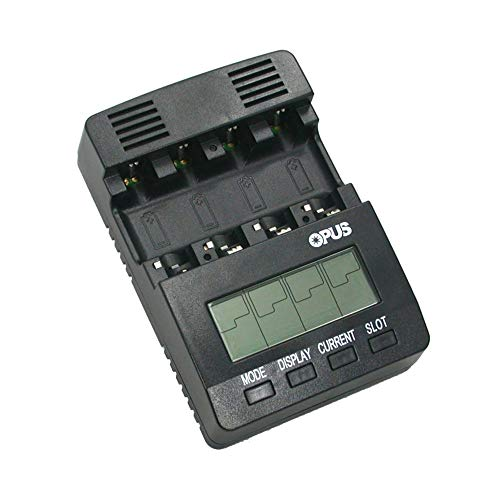 Opus BT-C2000 V2.0 Intelligent AA AAA Type NiMH NiCd Battery Charger