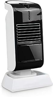 QAZXC Calefactor Eléctrico Calentador Rápido de Elementos de Calefacción de PTC Calentador de Escritorio Portátil de Bajo Consumo de Energía de 50 Vatios,Negro