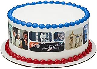 Star Wars Galaxy Edible Cake Border - Set of 3 Strips
