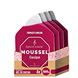 Moussel Gel de Ducha Clasico - Pack de 4 x 900 ml - Total: 3600 ml