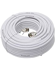 OXYWAVE® Low Loss LMR 300 RF Communications Coaxial Cable for Indoor/Outdoor Usage (5 Meter or 16.4 Feet) - White