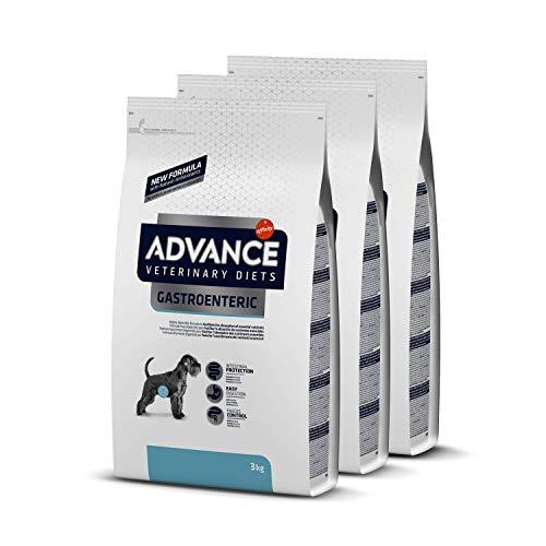 ADVANCE Veterinary Diets Gastroenteric - Pienso Para Perros Con Problemas Gastrointestinales - Pack De 3 x 3kg - Total 9 Kg