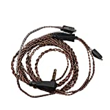 healthwen Cable de Auriculares Cable de actualización Trenzado de Cobre sin oxígeno de Alta pureza C...