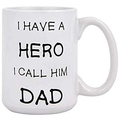 Best Dad Coffee Mug Lovely Coffee Tea Cup Best Dad Ever Unique Birthday Gifts Idea for Dad Father Papa Daddy Porcelain Cup 11Oz
