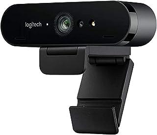 Logitech Brio Stream Webcam, per Streaming Ultra HD 4K Veloce a 1080p/60fps, Campo visivo regolabile, Funziona con Skype, ...
