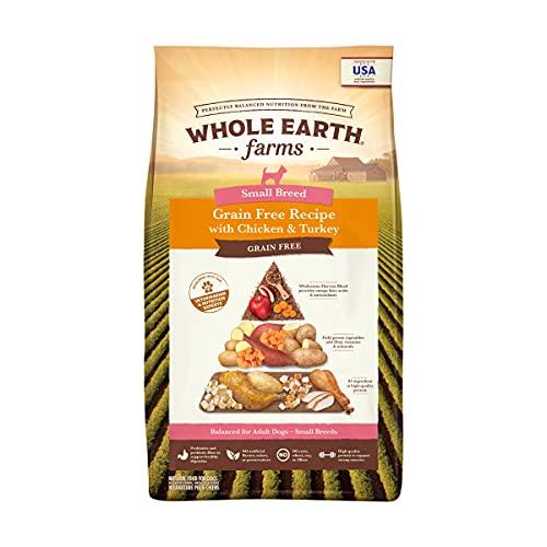 Whole Earth Farms Grain Free Small Breed Chicken & Turkey Dry Dog Food