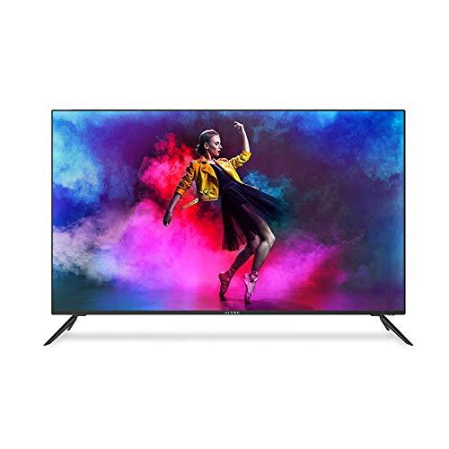 "Kiano Elegance TV 50"" Pollice Android TV 9.0 2GB RAM METAL CASE [127 cm Frameless TV] (4K Ultra HD, HDR, Miracast, Smart TV, Netfilx, Youtube, Facebook) Televisore 50, Triple Tuner, Ci, PVR, Classe A"