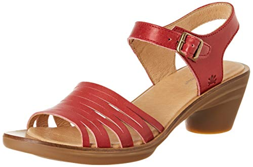 El Naturalista Aqua, Zapatos de tacón con Punta Cerrada Mujer, Rojo (