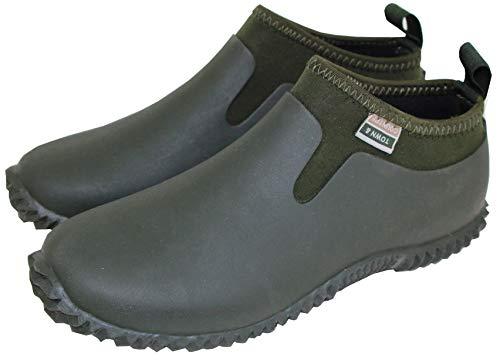 Town & Country Footwear Unisex-Gartenschuhe aus Neopren, wasserdicht, für alle Jahreszeiten, Grün, Grün - Neopren Grün - Größe: 36 2/3 EU