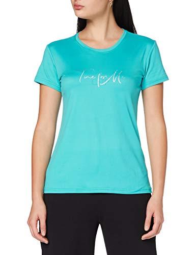 CMP – F.lli Campagnolo Damen T-Shirt Elastisches mit Aufdruck, Ceramic, D38, 39T7576