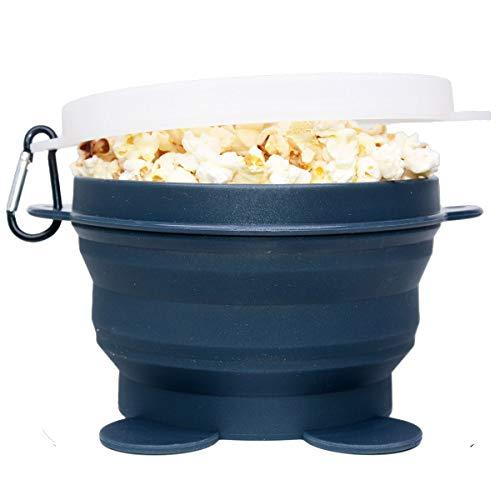 Microwave Popcorn Popper, Microwave Popcorn Maker Silicone, Microwave Popcorn Popper Silicone...