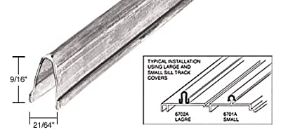 CRL 8' and 10' Stainless Steel Large Patio Door Sill Cover