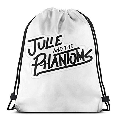 Julie-and-The-Phantoms - Bolsa de viaje deportiva con cordón para gimnasio, repelente al agua, mochila ligera para hombres y mujeres