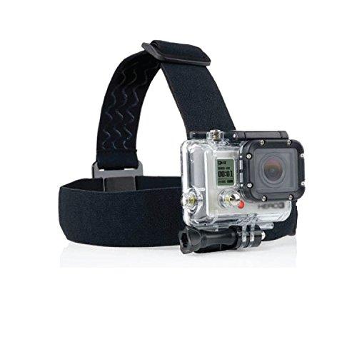 Verstelbare elastische hoofdband berg riem voor GoPro HD Hero 1 2 3 4 camera's